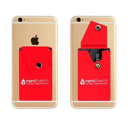 Silicone Smartphone Snap Pocket Wallet Image 6