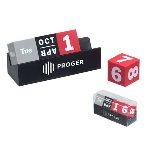 Cubes Perpetual Desk Calendar Image 3