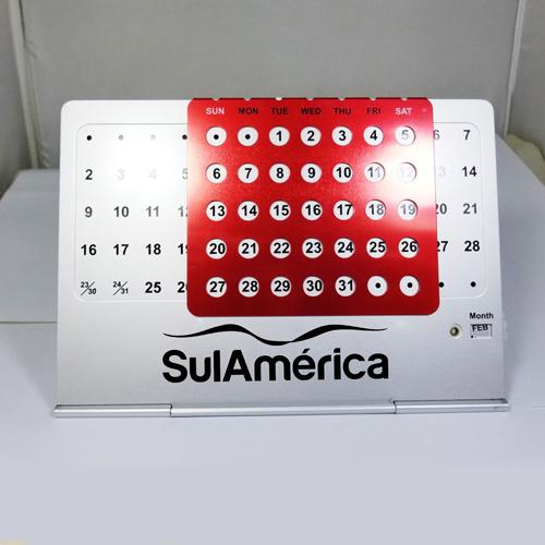 Creative Perpetual Metal Desk Calendar Image 8