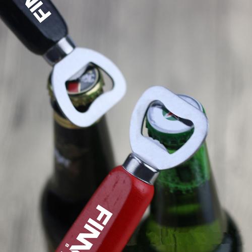 Custom Beer Bottle Opener Keychain With Handle Image 3