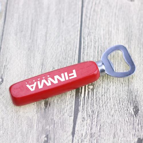 Custom Beer Bottle Opener Keychain With Handle Image 5