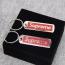 Custom Metal Tag Keychain