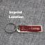 Custom Metal Tag Keychain Imprint Image