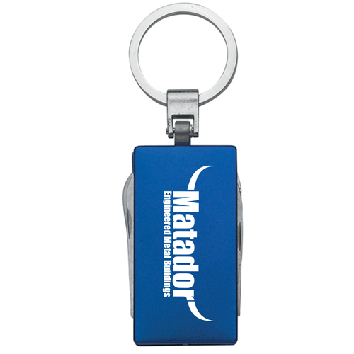 Multi-Function 5 In 1 Aluminum Key Tag Image 2