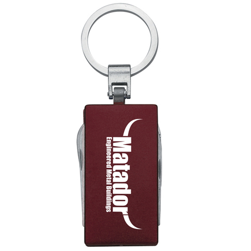 Multi-Function 5 In 1 Aluminum Key Tag Image 4