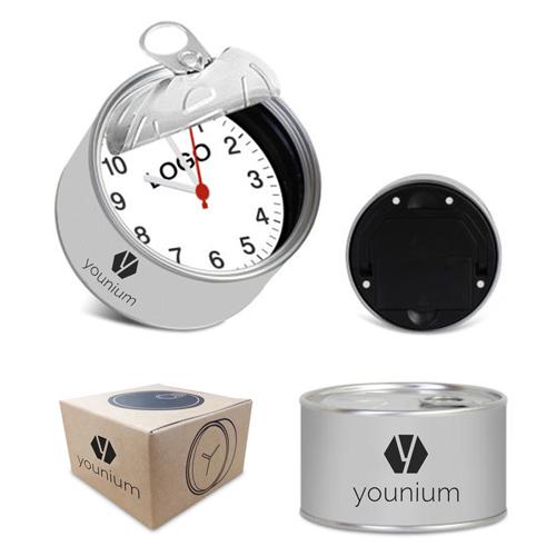 Magnetic Souvenir Tin Clock