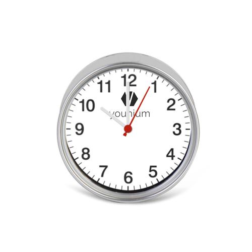 Magnetic Souvenir Tin Clock Image 1