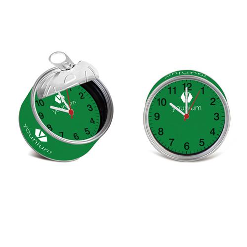 Magnetic Souvenir Tin Clock Image 6