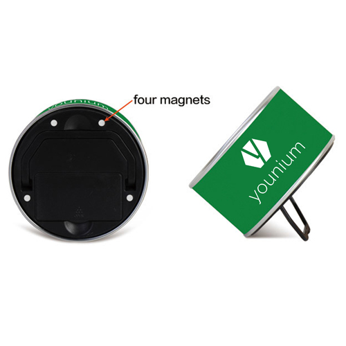 Magnetic Souvenir Tin Clock Image 7