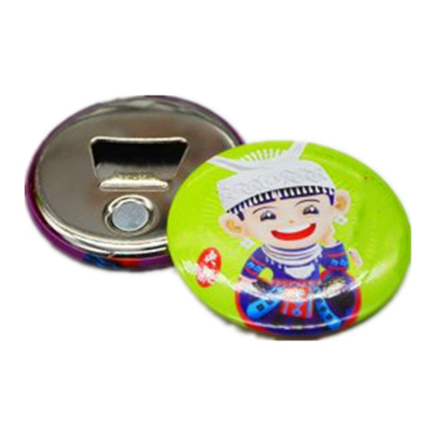 Tinplate Magnetic Bottle Opener Image 1