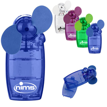 Mini Translucent Handheld Fan