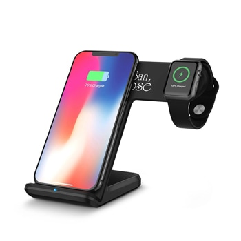 Speedy 2 in 1 Wireless Charger Stand