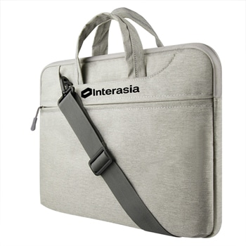 Canvas Water-Resistant Laptop Briefcase Bag