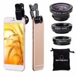 Compact 3 In 1 Phone Camera Lens Kit