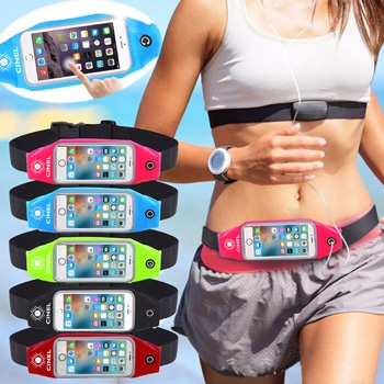Champ Waterproof Sports Phone Waist Bag