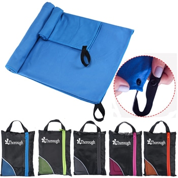 Soft Microfiber Travel Towel With Bag