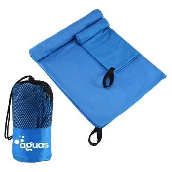 Microfiber Quick Dry Travel Towel With Mesh Bag
