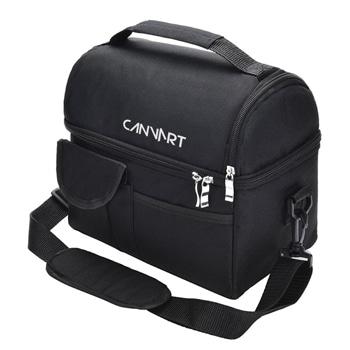 حقيبة غداء معزولة متعددة الوظائف بسعة 8 لتر