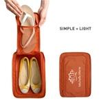 حقيبة حذاء السفر المحمولة مع شبكة الجيب