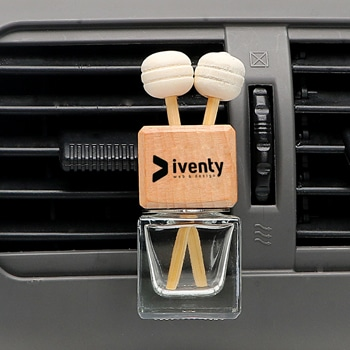 Crystal Bottle Car Vent Air Freshener