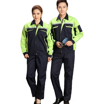 Reflective strip Long Sleeve Worker Uniform
