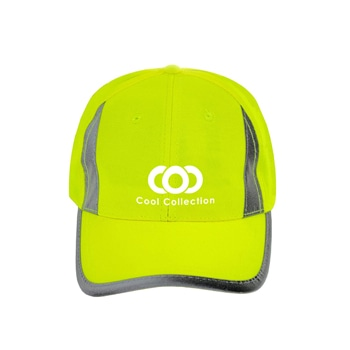 Fluorescent Accent Reflective Safety Cap