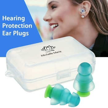 Noise Canceling Silicone Ear Plugs