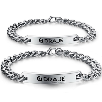 Customize Stainless Steel Name Bracelets