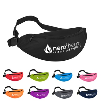 Outdoor Waist Zipper Fanny Pack