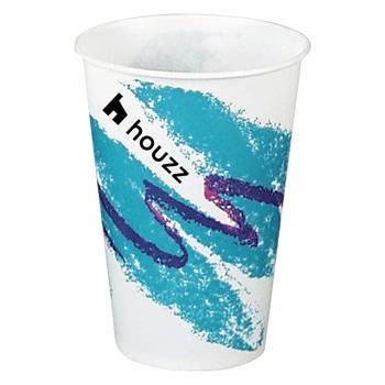 كأس بارد ماركة سولو من الورق المشمع