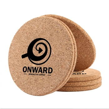 Retro Cork 6 Piece Drink Coaster