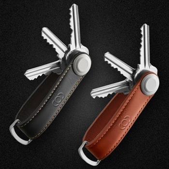 Smart Leather Organizer Keychain