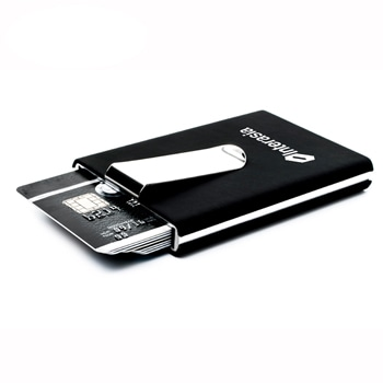 Fashion Aluminum Slim ID Card Holder