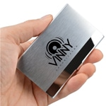 Premium Stainless Steel Business Card Holder