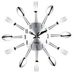 Novelty Fork Spoon Cutlery Wall Clock