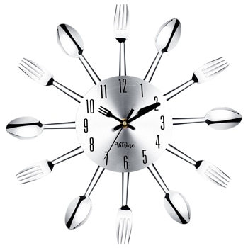 Novelty Fork Spoon Cutlery Wall Clock
