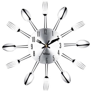 Horloge murale de couverts de cuillère de fourchette de nouveauté