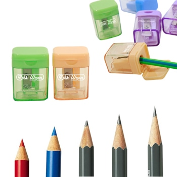 Manual Pencil Sharpener With Lid