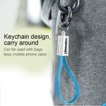Micro USB Flat Cable Keychain
