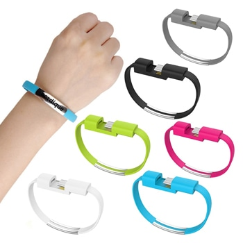Hand Wrist Band Lightning Cable