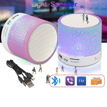 Portable LED Mini Wireless Bluetooth Speaker