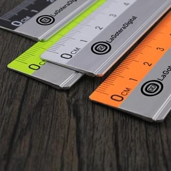 Straight Aluminum Measuring Ruler