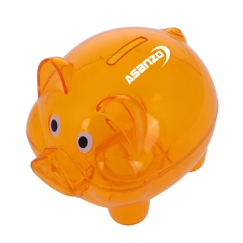 Transparent Money Piggy Bank
