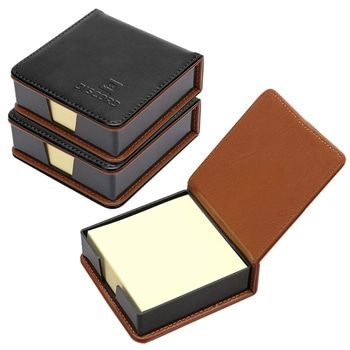 Business Leather Sticky Note Holder