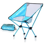 Outdoor Collapsible Mesh Moon Chair