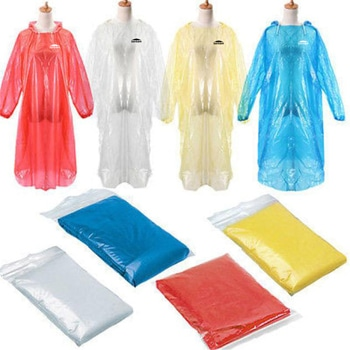 Travel Emergency Disposable Rain Poncho
