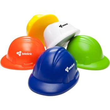 Squeeze Hard Hat Stress Reliever