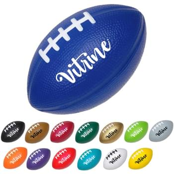 Bouncy Medium Football Stress Reliever