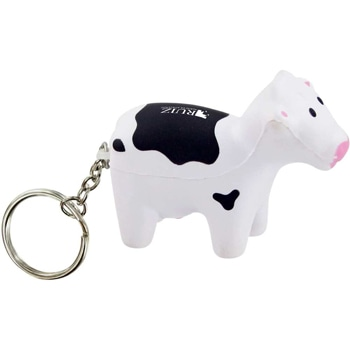 Milk Cow Key Tag Stress Toy