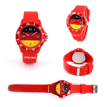 Silicone Soft Unisex Fan Watch